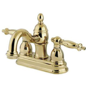 "Steeple Spout 4"" Center Lavatory Faucet"