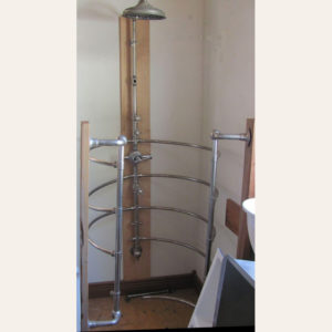 Antique 1920's Ribcage Alcove Shower
