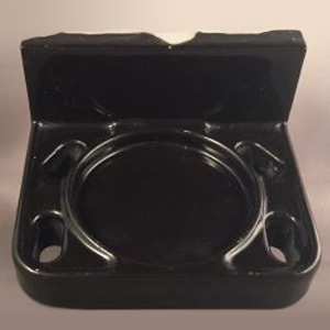 Black Tile-in Tumbler Holder