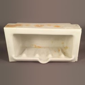 Antique Subway Tile Mortar Set Soapdish