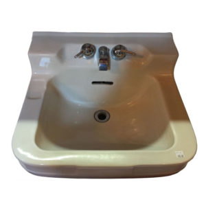 1951 Vintage Crane Oxford China Wall Hung Sink