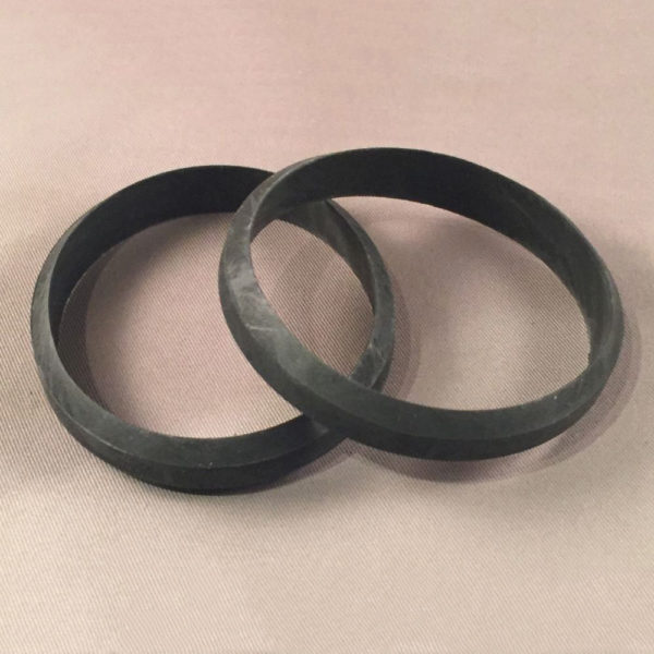 "2"" Slip-Joint Premium Beveled Rubber Washer Pair"