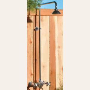 Outdoor Pool Shower Assembly