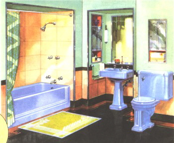1928 Kohler catalog illustration