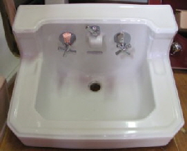 Standard Companion integral spout sink