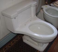 One Piece A K A Lowboy Toilet Repair Dea Bathroom