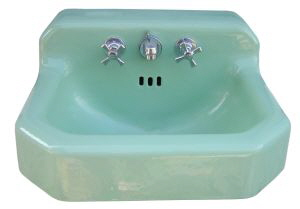 "Circa 1953 Standard ""Ledgewood"" sink"