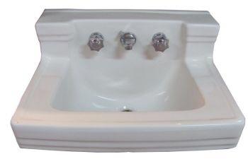 Circa 1958 Standard Shelfback sink