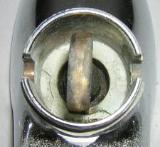 Crane retainer detail