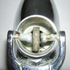 Crane spout detail
