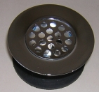 81-183C Chrome bathtub strainer body