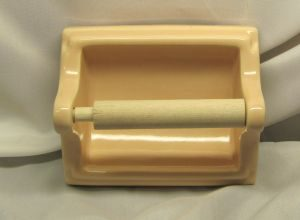 CA13085 Peach toilet paper holder