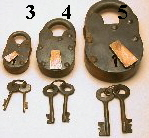 Padlocks and Irons