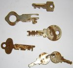 Key12 Flat Stamped Steel Keys