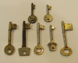 Key9 Mortise Door Keys