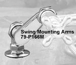 Swing Mounting arms and deck mount couplings