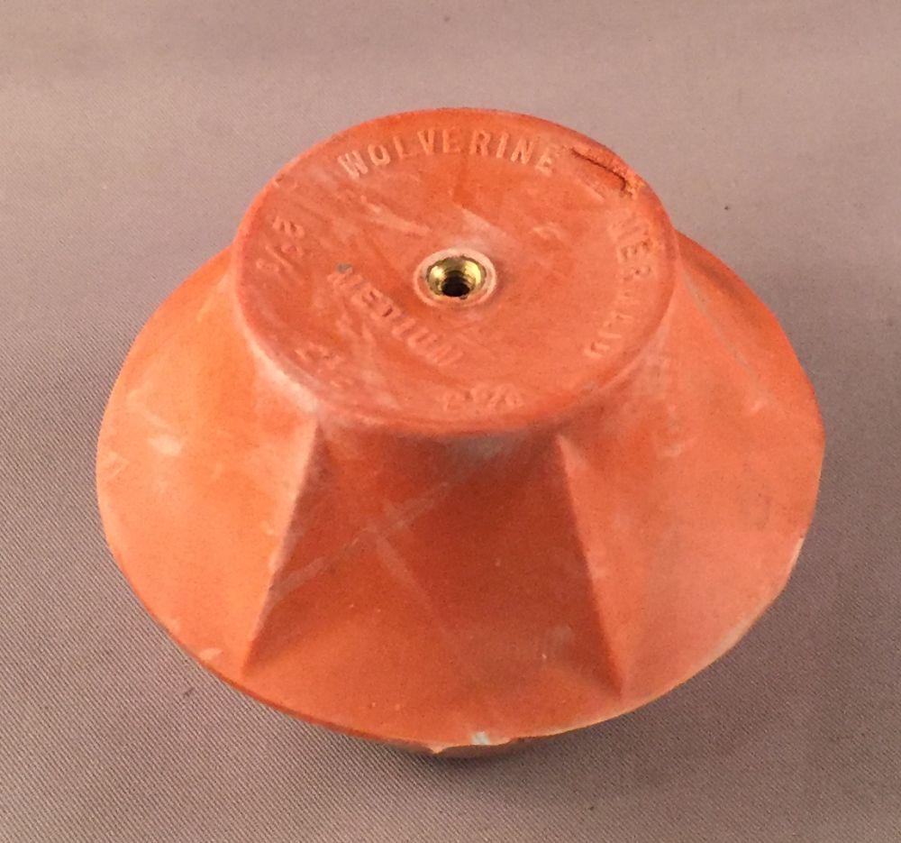 Premium Orange Tank Ball For Old Style Flush Valves Dea