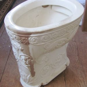 Excellent 1944 Vintage Kohler Sibley Toilet Bowl Dea Bathroom Creativecarmelina Interior Chair Design Creativecarmelinacom